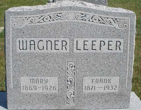 WAGNER, MARY - Darke County, Ohio   MARY WAGNER - Ohio Gravestone Photos