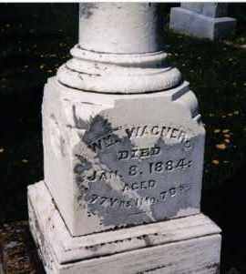 WAGNER, WILLIAM - Darke County, Ohio | WILLIAM WAGNER - Ohio Gravestone Photos