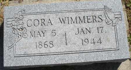 WIMMERS, CORA - Darke County, Ohio | CORA WIMMERS - Ohio Gravestone Photos