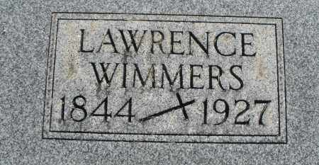 WIMMERS, LAWRENCE - Darke County, Ohio   LAWRENCE WIMMERS - Ohio Gravestone Photos