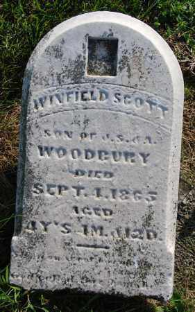 WOODBURY, WINFIELD SCOTT - Darke County, Ohio | WINFIELD SCOTT WOODBURY - Ohio Gravestone Photos