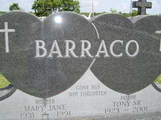 BARRACO, MARY JANE - Defiance County, Ohio | MARY JANE BARRACO - Ohio Gravestone Photos