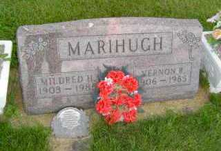 MARIHUGH, MILDRED  H - Defiance County, Ohio   MILDRED  H MARIHUGH - Ohio Gravestone Photos