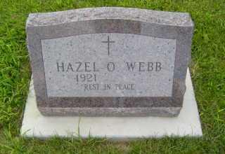 WEBB, HAZEL  O - Defiance County, Ohio | HAZEL  O WEBB - Ohio Gravestone Photos
