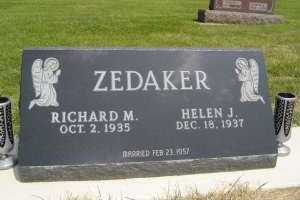 ZEDAKER, HELEN J - Defiance County, Ohio | HELEN J ZEDAKER - Ohio Gravestone Photos