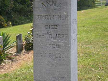 BOMGARTNER, ANNA - Delaware County, Ohio   ANNA BOMGARTNER - Ohio Gravestone Photos