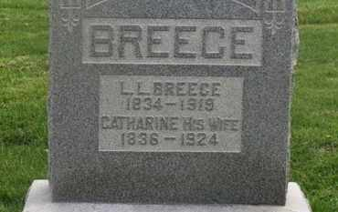 BREECE, L.L. - Delaware County, Ohio | L.L. BREECE - Ohio Gravestone Photos