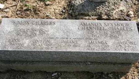 CHARLES, AMANDA - Delaware County, Ohio | AMANDA CHARLES - Ohio Gravestone Photos