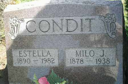 BAKER CONDIT, ETHEL ESTELLA - Delaware County, Ohio | ETHEL ESTELLA BAKER CONDIT - Ohio Gravestone Photos