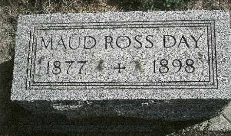 ROSS DAY, MAUD - Delaware County, Ohio | MAUD ROSS DAY - Ohio Gravestone Photos