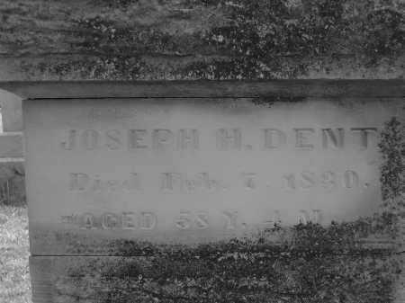 DENT, JOESEPH H. - Delaware County, Ohio | JOESEPH H. DENT - Ohio Gravestone Photos