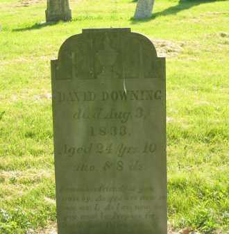 DOWNING, DAVID - Delaware County, Ohio | DAVID DOWNING - Ohio Gravestone Photos