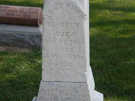 DURFEY, JOSEPHUS - Delaware County, Ohio   JOSEPHUS DURFEY - Ohio Gravestone Photos