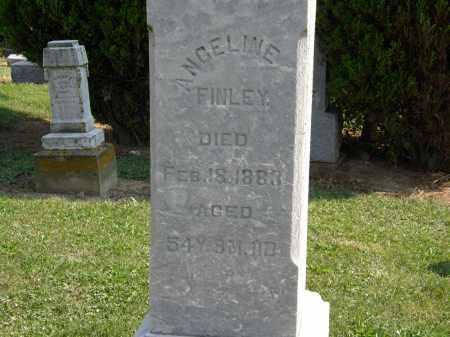 FINLEY, ANGELINE - Delaware County, Ohio   ANGELINE FINLEY - Ohio Gravestone Photos
