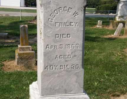 FINLEY, GEORGE W. - Delaware County, Ohio   GEORGE W. FINLEY - Ohio Gravestone Photos