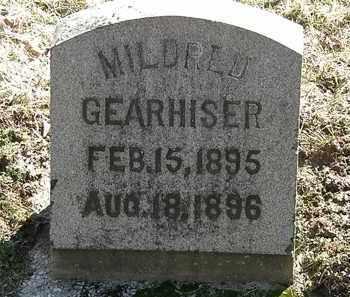 GEARHISER, MILDRED - Delaware County, Ohio   MILDRED GEARHISER - Ohio Gravestone Photos