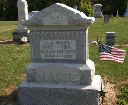 MAIZE, SUSAN - Delaware County, Ohio   SUSAN MAIZE - Ohio Gravestone Photos