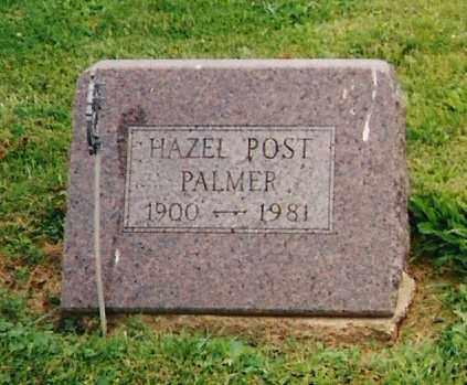 POST PALMER, HAZEL - Delaware County, Ohio | HAZEL POST PALMER - Ohio Gravestone Photos
