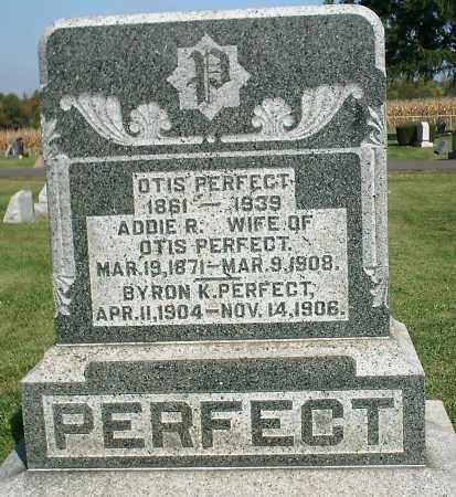 PERFECT, OTIS - Delaware County, Ohio | OTIS PERFECT - Ohio Gravestone Photos