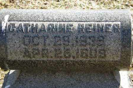 REINER, CATHARINE - Delaware County, Ohio | CATHARINE REINER - Ohio Gravestone Photos