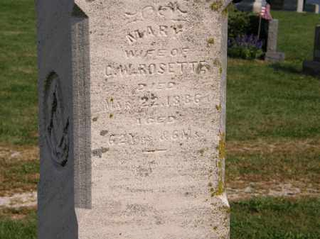 ROSETTE, MARY - Delaware County, Ohio   MARY ROSETTE - Ohio Gravestone Photos