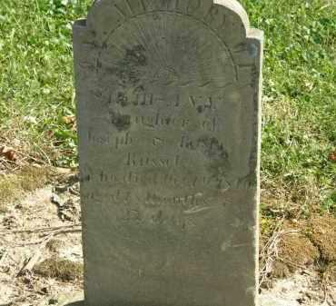 RUSSEL, BETSEY - Delaware County, Ohio   BETSEY RUSSEL - Ohio Gravestone Photos