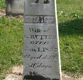 RUTTER, G. - Delaware County, Ohio | G. RUTTER - Ohio Gravestone Photos