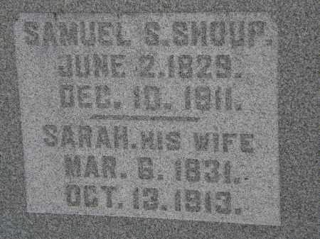 SHOUP, SAMUEL S. - Delaware County, Ohio   SAMUEL S. SHOUP - Ohio Gravestone Photos