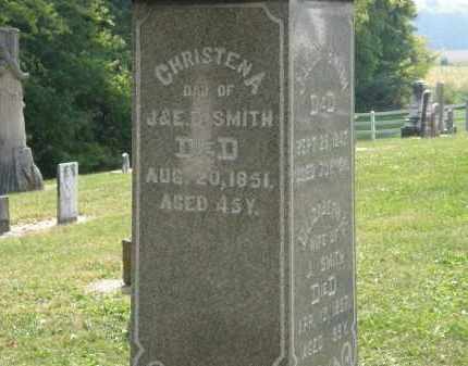 SMITH, CHRISTENA - Delaware County, Ohio | CHRISTENA SMITH - Ohio Gravestone Photos
