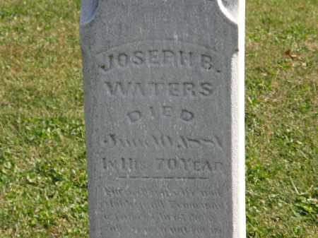 WATERS, JOSEPH E. - Delaware County, Ohio   JOSEPH E. WATERS - Ohio Gravestone Photos