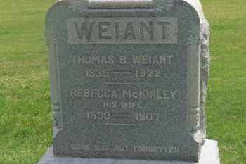 WEIANT, THOMAS B. - Delaware County, Ohio | THOMAS B. WEIANT - Ohio Gravestone Photos
