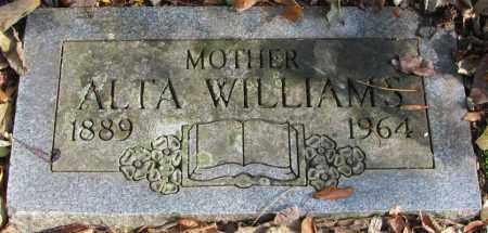 BISHOP WILLIAMS, ALTA - Delaware County, Ohio | ALTA BISHOP WILLIAMS - Ohio Gravestone Photos