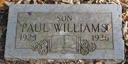 WILLIAMS, PAUL - Delaware County, Ohio | PAUL WILLIAMS - Ohio Gravestone Photos