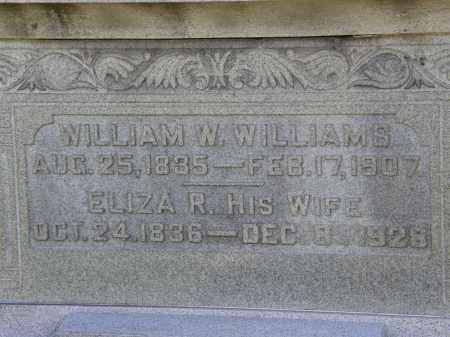 WILLIAMS, WILLIAM W. - Delaware County, Ohio | WILLIAM W. WILLIAMS - Ohio Gravestone Photos