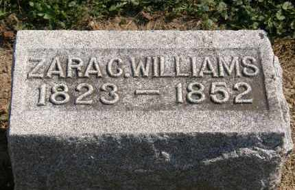WILLIAMS, ZARA C. - Delaware County, Ohio   ZARA C. WILLIAMS - Ohio Gravestone Photos