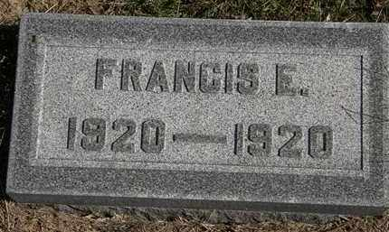 ALLGOOD, FRANCIS E. - Erie County, Ohio   FRANCIS E. ALLGOOD - Ohio Gravestone Photos