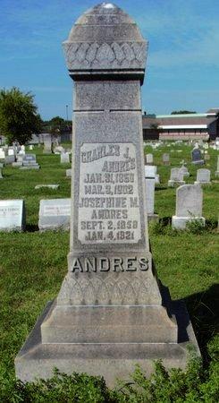 ANDRES, CHARLES - Erie County, Ohio | CHARLES ANDRES - Ohio Gravestone Photos