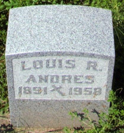 ANDRES, LOUIS - Erie County, Ohio | LOUIS ANDRES - Ohio Gravestone Photos