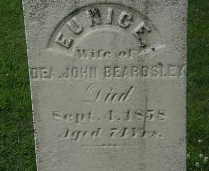 BEARDSLEY, EUNICE - Erie County, Ohio | EUNICE BEARDSLEY - Ohio Gravestone Photos