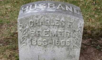BREMER, CHARLES F. - Erie County, Ohio | CHARLES F. BREMER - Ohio Gravestone Photos