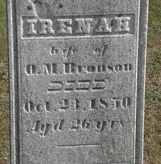 BRONSON, O.M. - Erie County, Ohio | O.M. BRONSON - Ohio Gravestone Photos