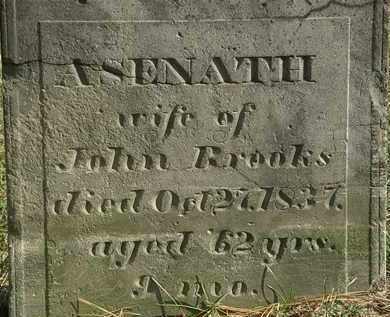 BROOKS, ASENATH - Erie County, Ohio   ASENATH BROOKS - Ohio Gravestone Photos