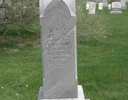 BROOKS, A. - Erie County, Ohio   A. BROOKS - Ohio Gravestone Photos