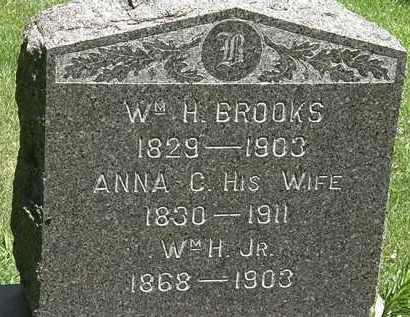 BROOKS, WM. H. - Erie County, Ohio | WM. H. BROOKS - Ohio Gravestone Photos