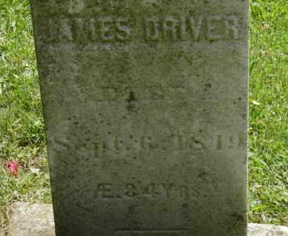 DRIVER, JAMES - Erie County, Ohio   JAMES DRIVER - Ohio Gravestone Photos