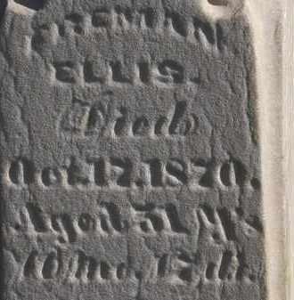 ELLIS, FREEMAN - Erie County, Ohio | FREEMAN ELLIS - Ohio Gravestone Photos