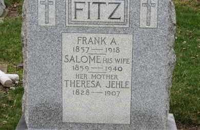 FITZ, FRANK A. - Erie County, Ohio   FRANK A. FITZ - Ohio Gravestone Photos