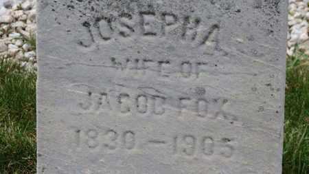 FOX, JACOB - Erie County, Ohio | JACOB FOX - Ohio Gravestone Photos
