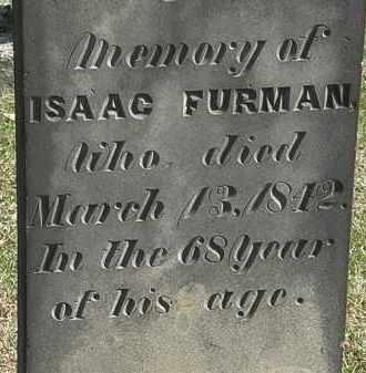 FURMAN, ISAAC - Erie County, Ohio | ISAAC FURMAN - Ohio Gravestone Photos