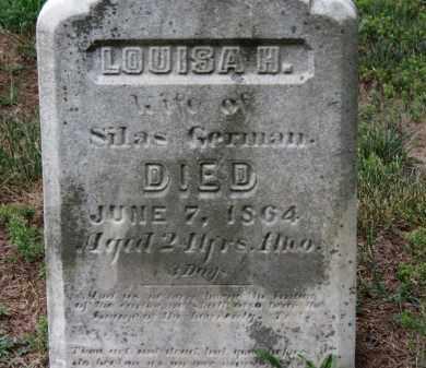 GERMAN, LOUISA H. - Erie County, Ohio   LOUISA H. GERMAN - Ohio Gravestone Photos